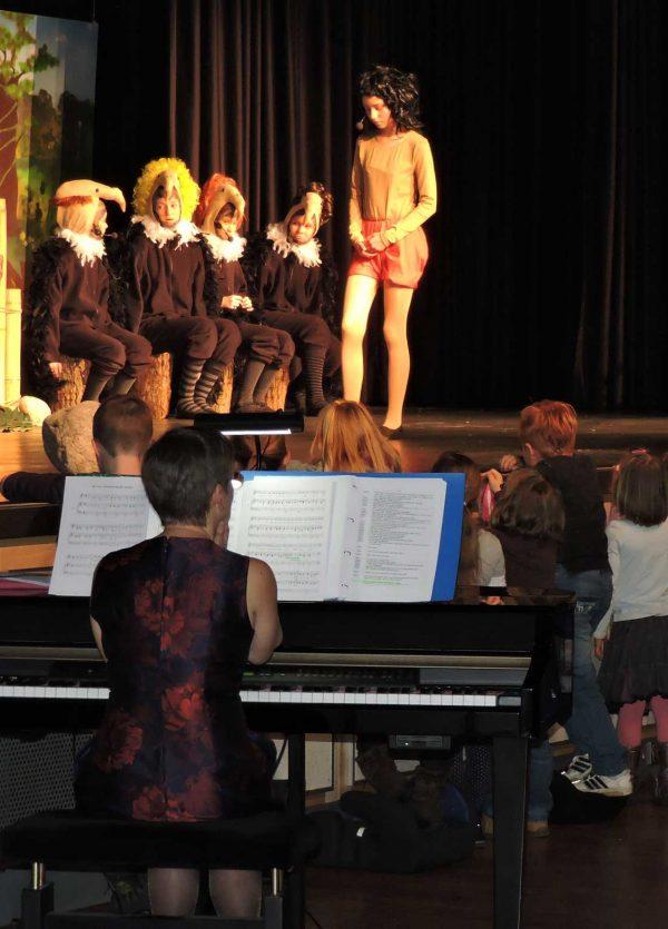 Bettina Casdorff beim Musical
